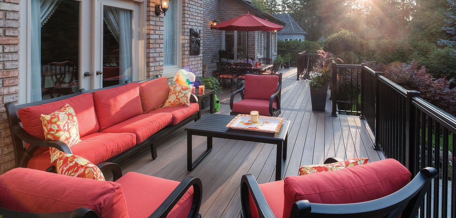 Create an Elegant Deck Design Using Wolf Composite Deck Boards